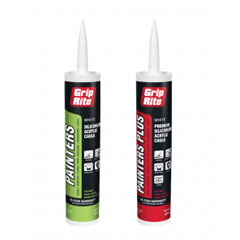 Grip-Rite - Adhesives, Coatings, Caulks, Sealants