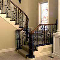 Fitts - Baluster, Wrought Iron